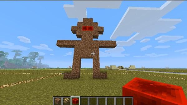 Minecraft Overhang 1